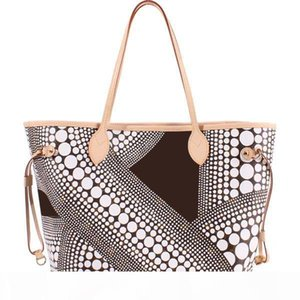 Brown Flower AYOI KUSAMA'S MO. WAVES NF MM M40684 M40685 or COTTON BAG , Customer Designate Product