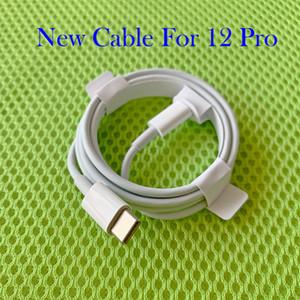 Orijinal OEM Kalite Hızlı Şarj Kablosu PD Kablo 1m 3ft 2 M 6ft USB-C a 11Pro Kablo için 12 Pro Max Yeni Kutu ile