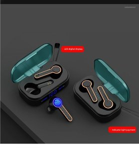 2020 New Bluetooth 5.0 Wireless Headsets Touch Control Earphones Earbuds TWS Sport Headset Noise Cancel LED Display Waterproof1
