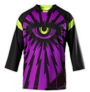 2021 Summer Velocità Goccia T-Shirt T-Shirt Mountain Country Motorcycle Racing Suit Summer Bike Cycling Jersey Camicia a maniche lunghe uomo