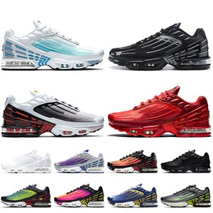 2020 New Top Quality Tuned Tn Plus 3 Mens Trainers Tn 3 Women Mens Running Shoes White Laser Blue Black Red Sports Sneakers