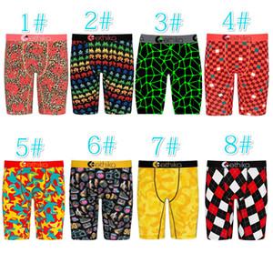 New Designer Men Ethika Shorts Sexy Printed Pants Summer Club Mini Leggings Fashion Men Beach Pants Casual Clothing Plus Size 8 Color