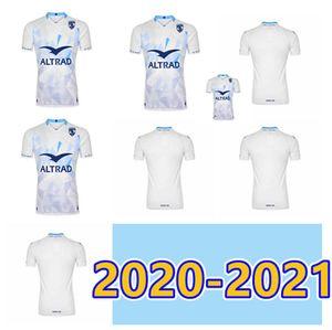 S-5XL 2020 2021 Alta qualità Montpellier Rugby Shirt HSC T-Shirt National Team New Herat Shirt Home And Away Magliette Mailot de Piedi Uomo UNI