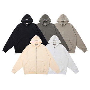 Fashion high street brand fog essentials mens women casual latter style fear of god essentials casual sport hoodie