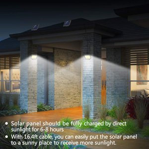 4pack Motion Sensor Lights Outdoor Solar Powered COB LED waterproof,Adjustable Solar Panel. Wired Security Lights for Yard, Garage, Pathway