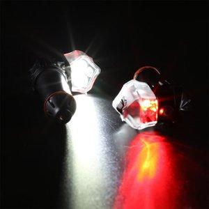 Neu 1 Paar Fahrradgriff Bar Endstecker Licht Radfahren Sicherheit Blinker LED-Lampe USB-Aufladung BN99