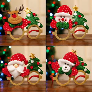 New Christmas glasses adult children dress up props shopping mall activities small gifts Christmas party bar shopping mall decoration pendan
