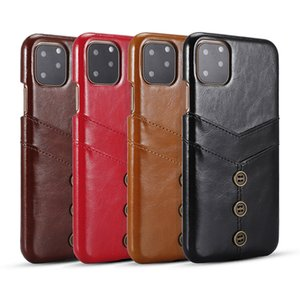 Phone Case For iPhone 11 Pro Max 8 8plus for iPhone X XS Max 6 7 7plus Leather Card Pocket Phone Cases