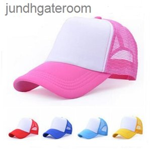 Summer Mesh Hat Spring Blank Snapback Cheap Trucker Cap Men Plain Foam Net Snap Back Baseball Caps for Women 23 colors