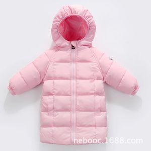 New Children 's Medium and Long Down Clothing Men 's and Women 's Baby Baby Children 201117