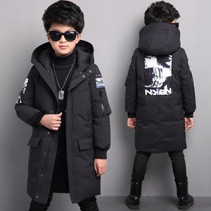 -30 degrees new boys winter jackets children clothing warm down jacket Hooded coat thicken outerwear kids parka clothes overcoat Y200919