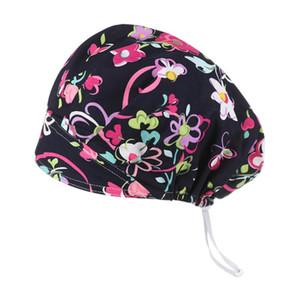 HOOH ajustable Sombrero Sanitaria con las gorritas Banda de sudor Loop Beanie Hat sólidos sombreros de los hombres de las mujeres de Skullies