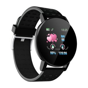 Cheap Smart Bracelet Heart Rate Smart Watch Man Wristband Sports Watches Band Waterproof Smartwatch For Android IOS With Alarm Clock