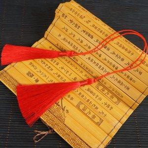 5 adet Rayon İki Kafa Halat Bant Püsküller Ev Tekstili Perde Konfeksiyon Giyim Kolye Zanaat Püsküller DIY Giyim Dekorasyon H JLLCMX