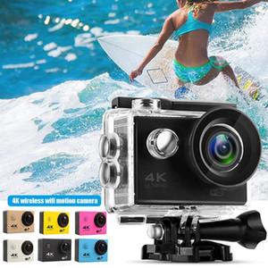 "Sport Camera Ultra HD 4K   30fps WiFi 2.0"" 170D Underwater Waterproof DVR Video Cam Outdoor Diving Bicycle Camcorder"
