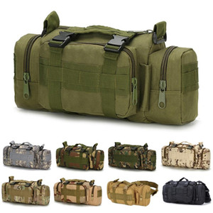 6L Waterproof Outdoor Bag Durable Material Fishing Bags Molle System Multi-Functional Hiking Bag Wear Resistant 27