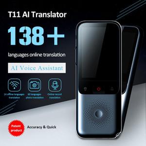 2020 Nova T11 Portable Audio Tradutor 138 Língua inteligente Tradutor off-line em tempo real inteligente de voz AI Voz Foto