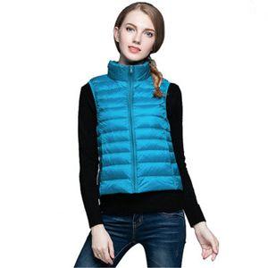 Large Winter Women Jacket Casual Big Size Female Coat Parkas Women's Down Coats Tank Thin Warm Vest J757