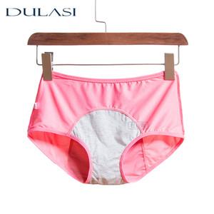 Fisiológica Calcinhas Mulheres respirável Sexy Menstrual Leakproof Underwear Mid cintura Quente Saudável Para Meninas Briefs DULASI