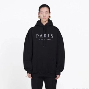Famous Mens Paris Embroidery Hoodies Fashion Mens Stylist Hoodies Jacket Men Womens High Quality Casual Sweatshirts Size M-2XL