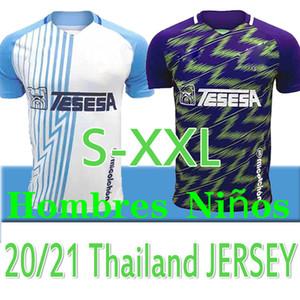 20 21 Malaga Fussball Jerseys Málaga 2020 2021 K. Bare Juanpi Adrian CF Football Hemd Juankar Camiseta de Fútbol Juande Herren Hombres Uniformen