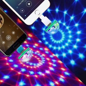 Mini Usb Disco Light 5v Usb Led Stage Light Music Control Light Ktv Dj Disco Stage Effects Lamps Microphone Colorful Lights