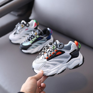 Kids Designer Shoes New Kanye West Breathable Shoes Kid Sneakers Infant Big Boys Girls Basketball Chaussures Enfants Shoes