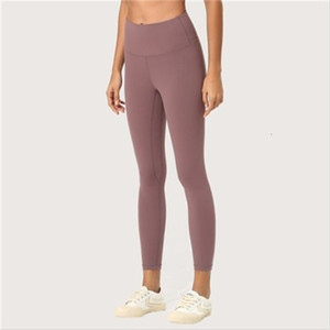 High Waist Solid Color Womens Sweatpants Gym Clothing Leggings Elastic Fitness Lady Overall Full Tights Workout