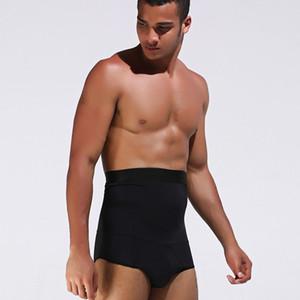 Erkekler Yüksek Bel Kontrol Külot Vücut Shaper için Erkek İç Giyim Külot Erkek Karın Tucker Karın Kontrol Shapewear