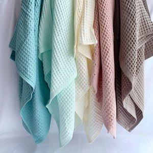 القطن الهراء الطفل منشفة حمام غطاء الهراء الشاش الصيف للأطفال الكبار للأطفال استخدام التفاف البطانيات Y201009