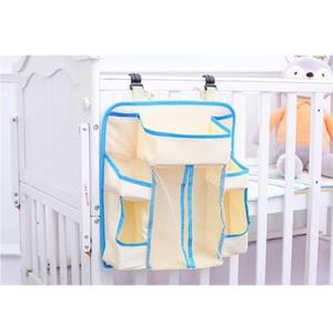 Nursery Organizer Baby Diaper Caddy Hanging Organization Storage Bag for Crib WWO66