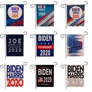 Biden Garden Flag 32 * 47cm 2020 Election américaine Biden Party Parti bannière numérique Lin Biden soutien Jardin Drapeaux FWA1105