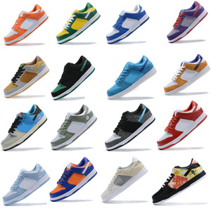Nike Dunk SB Running shoes Low Pro Iso Infrared Chunky Dunky Low Authentic Sneakers Paris SP Brasil fora Conceitos VALENTIM x Mens Womens Esportes Skate Formadores