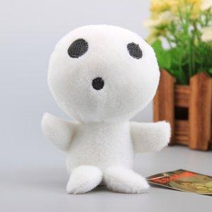 Anime Princess Mononoke Kodama Tree Spirit Plush Toy Small Pendant Soft Stuffed Doll 5 12CM