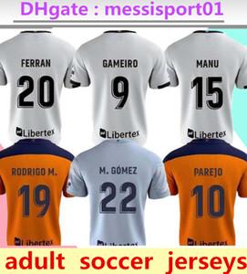 2020/21 발렌시아 축구 유니폼 Guedes Gameiro Camisetas de Fútbol Rodrigo M. Florenzi M.Gómez 2020/21 발렌시아 남성 축구 셔츠