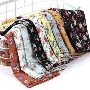 Muslim Printed Chiffon Hijab Scarf Arab Headscarf for women Flower Islam foulard shawls and wraps hijab femme turbantes