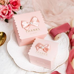 2020 new wedding girl banquet candy gift decoration bow accessories original pink sweet marriage and joyfulBe gratefulhappy life