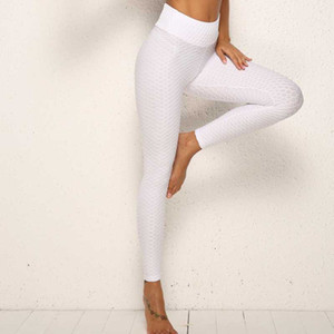 Multiple Solid Color Yoga Leggings Stylish Woman High Waist Sports Tights Ladies Fitness Pants Gym Clothes Apparel