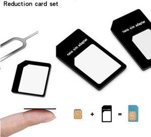 Card tray 4-in-1 metal SIM card pin recovery card, mobile phone nano card holder...
