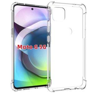 Прозрачный телефон для Motorola Гурт Plus Case Soft Motorola G9 Мощность G 5G силиконовый чехол ТПУ гель защиты кожи Moto Эдж Plus Обложка