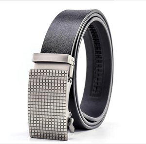 Mens designer Belt Automatic Buckle Business Belts Luxury Ceinture Genuine Leather Belts For Men Waist Belt Free Shipping DK-2020