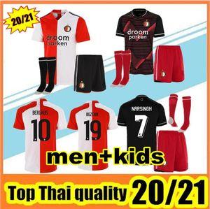 2020/21 Feyenoord camiseta de fútbol KOKCU camiseta de fútbol Camiseta de futbol Berghuis JORGENSEN camiseta de fútbol 2020 pies 2021 SENESI maillot