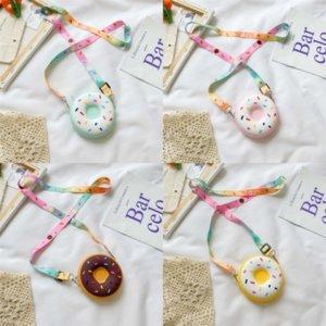 WWQKL Herren von Snoopy Mode-Stilen Ledertaschen Herren Messenger Neue Nette Donuts Handtasche Taschen Luxus Designer Kinder Messenger Designer