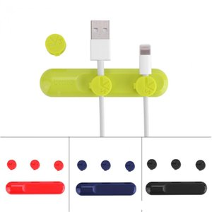 Bcase Magnet-Kabel-Winde-Draht-Organisator-Schnur für iPhone Samsung Huawei Kopfhörer-Halter USB-Lade Linie Desktop-Clips