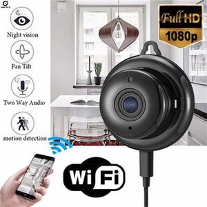 كاميرا مراقبة WIFI كاميرا IP 1080P للرؤية الليلية IP كاميرا مصغرة كاميرات الفيديو المنزلية مراقبة الفيديو الطفل Kamera wifi LJ201211