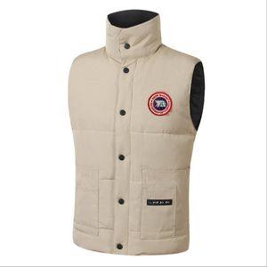 Transporte rápido Canada Marca Jaqueta de Inverno Mens Freestyle Vest Ganso para Down Vest Down Colete Down Jacket 7 Cor
