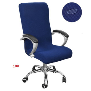 Waterproof S M L Office Cover Universal Size Elastic Rotating Covers Modern Stretch Arm Chair Slipcovers