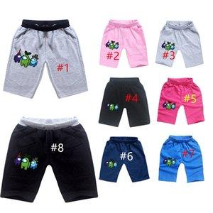 Game Among Us Shorts New Cartoon Anime Kids Boys Girls Short Pants Children Clothing Soft Cotton Summer Shorts Sports Beach Shorts CZ122803