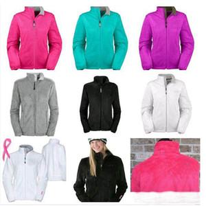 Sıcak Kış Kadın Yumuşak Polar Osito Ceketler Coats Yüksek Kalite Erkekler Çocuk Kayak Aşağı Windproof Coats Siyah Pembe Beyaz S-XXL Isınma