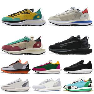 nike sacai waffle ldv vaporfly pegasus 2020 Pegasus Vaporfly Mulheres Homens Running Shoes Moda Sacai Waffle Daybreak Run Shoe nylon preto branco das sapatilhas